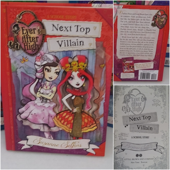 """Ever After High Book 1 by Suzanne Selfors """"New"""""""